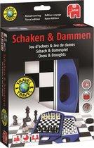 Schaakspel en Damspel Reiseditie - Reisspel