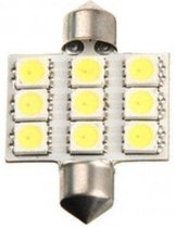 Dome 9 LED C5W SMD Auto Interieur Lamp 36mm