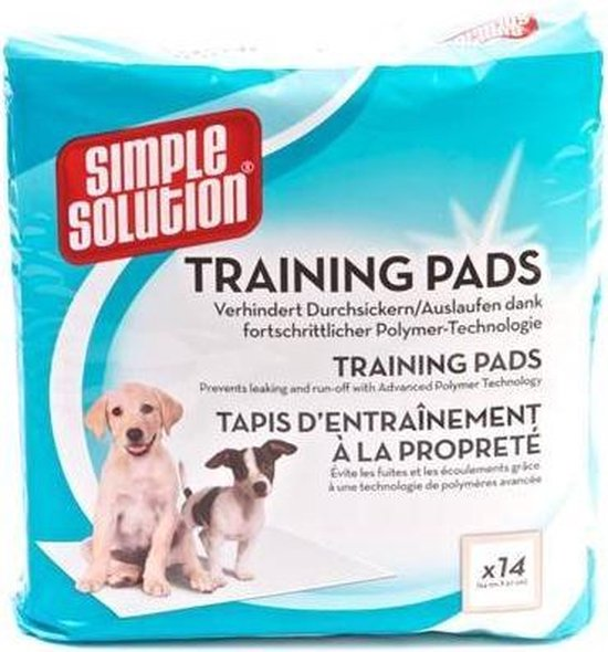 Simple Solution Puppy Training Pads - 30 stuks - 54 x 57 cm