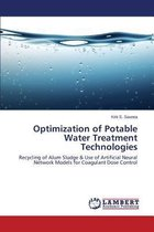 Optimization of Potable Water Treatment Technologies
