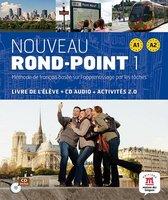 Nouveau Rond-Point 1 livre de l'élève + CD audio