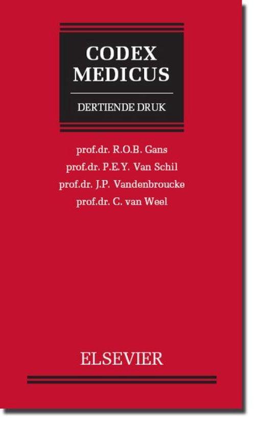 Codex medicus - R.O.B. Gans |