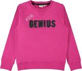 Name it Meisjes Sweatshirt - Fuchsia Purple - Maat 116