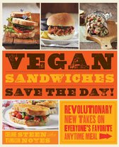 Boekomslag van 'Vegan Sandwiches Save the Day!'
