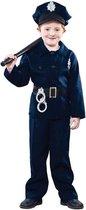 Voordelig politie kostuum voor kinderen 120-130 (7-9 jaar)