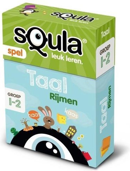 Afbeelding van het spel Squla Kaartspel Taal Rijmen