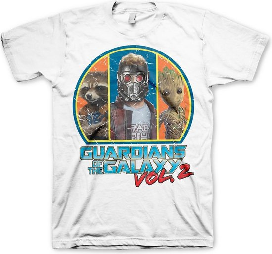 GUARDIANS OF THE GALAXY 2 - T-Shirt Quad (XXL)
