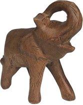 Houten olifant beeld 14 cm suar hout | GerichteKeuze