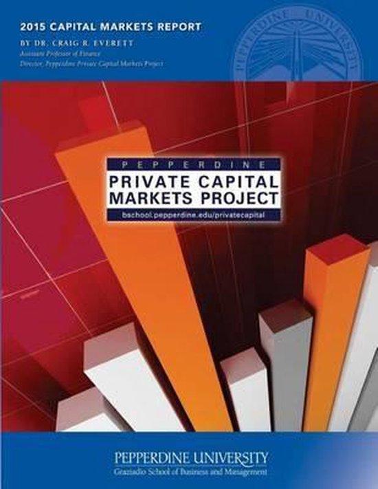 Boek cover 2015 Capital Markets Report van Dr Craig R Everett (Paperback)
