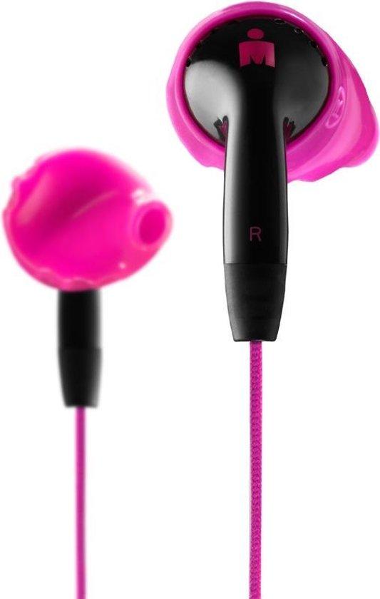 YURBUDS Inspire Duro Hoofdtelefoons In-ear Zwart, Roze