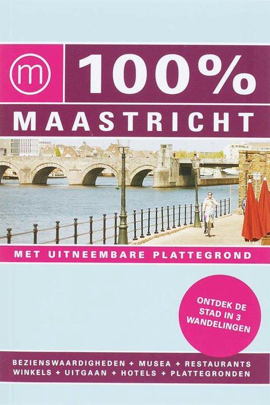 Cover van het boek '100% Maastricht' van J. Philippi en J Philippi