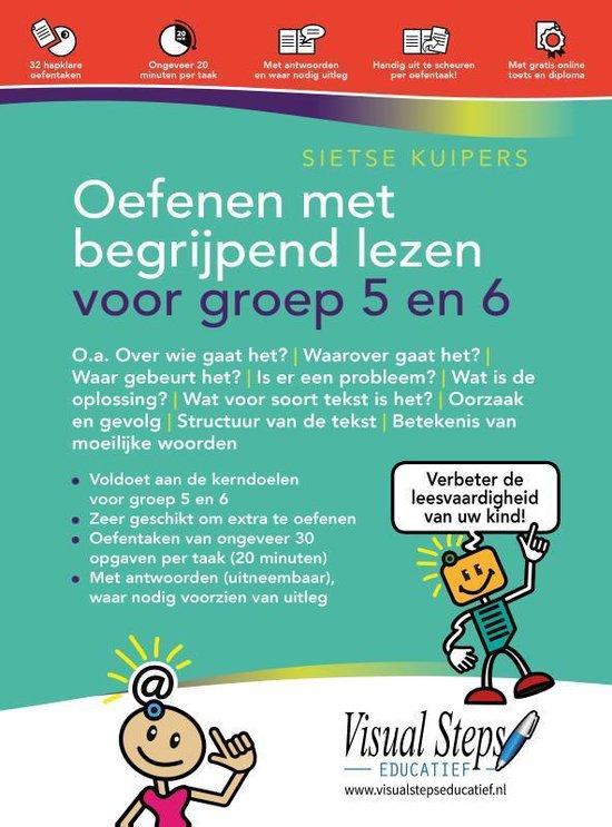 Boek cover Oefenen met begrijpend en studerend lezen voor groep 5 en 6 van Sietse Kuipers (Paperback)