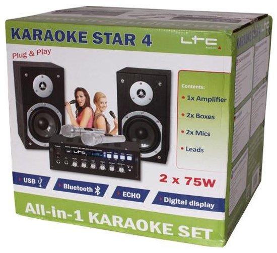 LTC KARAOKE-STAR4 karaokesysteem