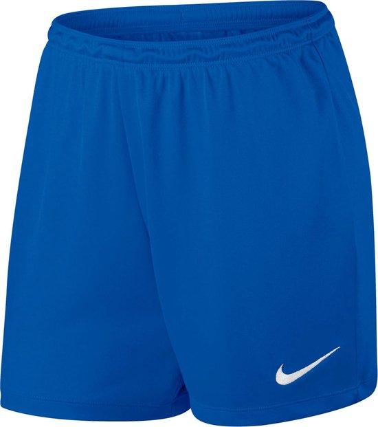 Nike Dry Team Park II Sportbroek - Maat M  - Vrouwen - blauw/wit