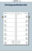 Castelli omleg weekkalender op schild 2018