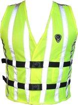 Fluohesje EN 1150 voor kind 0- 6 jr WOWOW - fashion veiligheidsvest