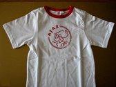 Ajax t-shirt pro wit - maat 164