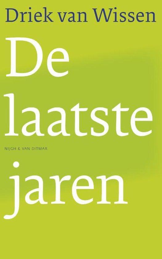 Cover van het boek 'De laatste jaren'