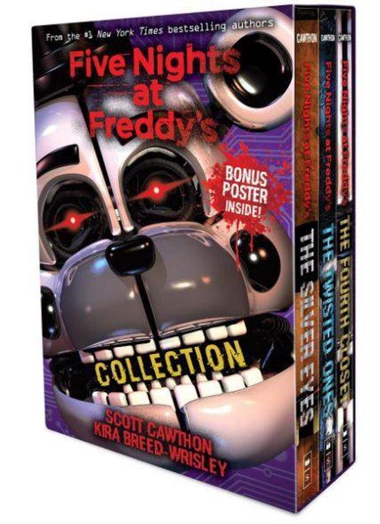 Boek cover Five Nights at Freddys 3-book boxed set van Scott Cawthon (Paperback)