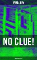 Omslag NO CLUE! (Murder Mystery)