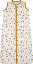 Meyco Dots babyslaapzak - 70 cm - okergeel
