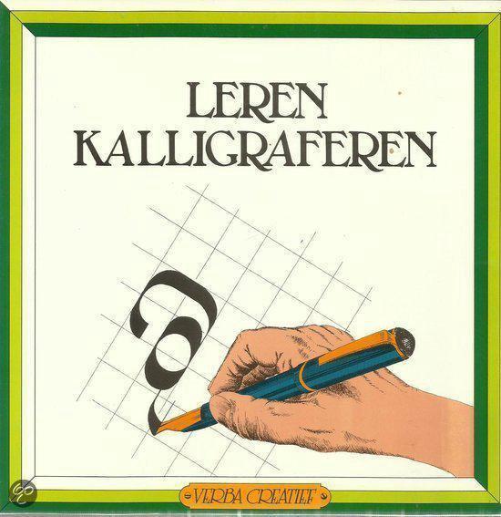 Leren kalligraferen - Bert Witte |