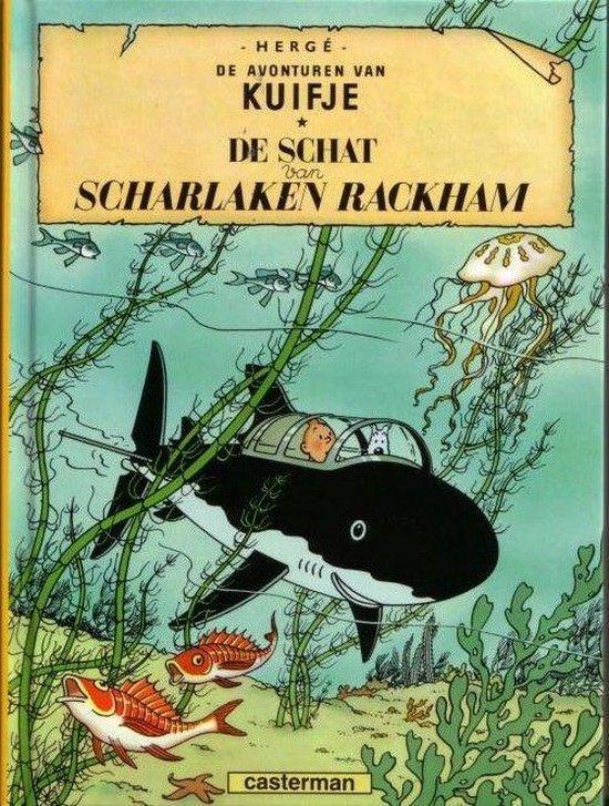 Kuifje A5 12 De Schat Van Rackham - Hergé |