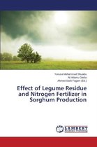 Effect of Legume Residue and Nitrogen Fertilizer in Sorghum Production