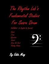 The Rhythm Lab's Fundamental Studies for Snare Drum by Eddie Ming