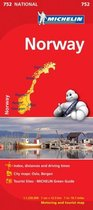 Norway - Michelin National Map 752