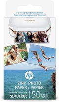 HP Sprocket zelfklevend fotopapier - 50 vel