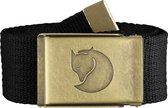 Fjallraven Canvas Brass Belt 4 cm Kledingriem - Black