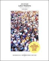 Boek cover Labor Relations van John W. Budd