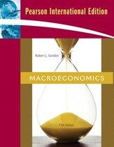 Boek cover Macroeconomics van Robert J. Gordon