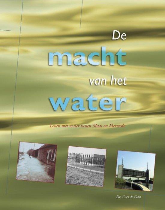 Cover van het boek 'De macht van het water' van C. de Gast