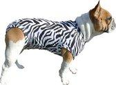 Medical Pet Shirt Hond Zebra Print - M