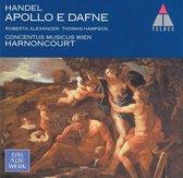 Handel: Apollo e Dafne / Harnoncourt, Alexander, Hampson