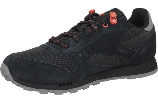 Reebok Classic Leather Cn4705, Vrouwen, Zwart, Sneakers Maat: 36.5 Eu c3mk2V