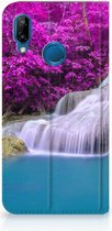 Book Wallet Case Huawei P20 Lite Hoesje Waterval