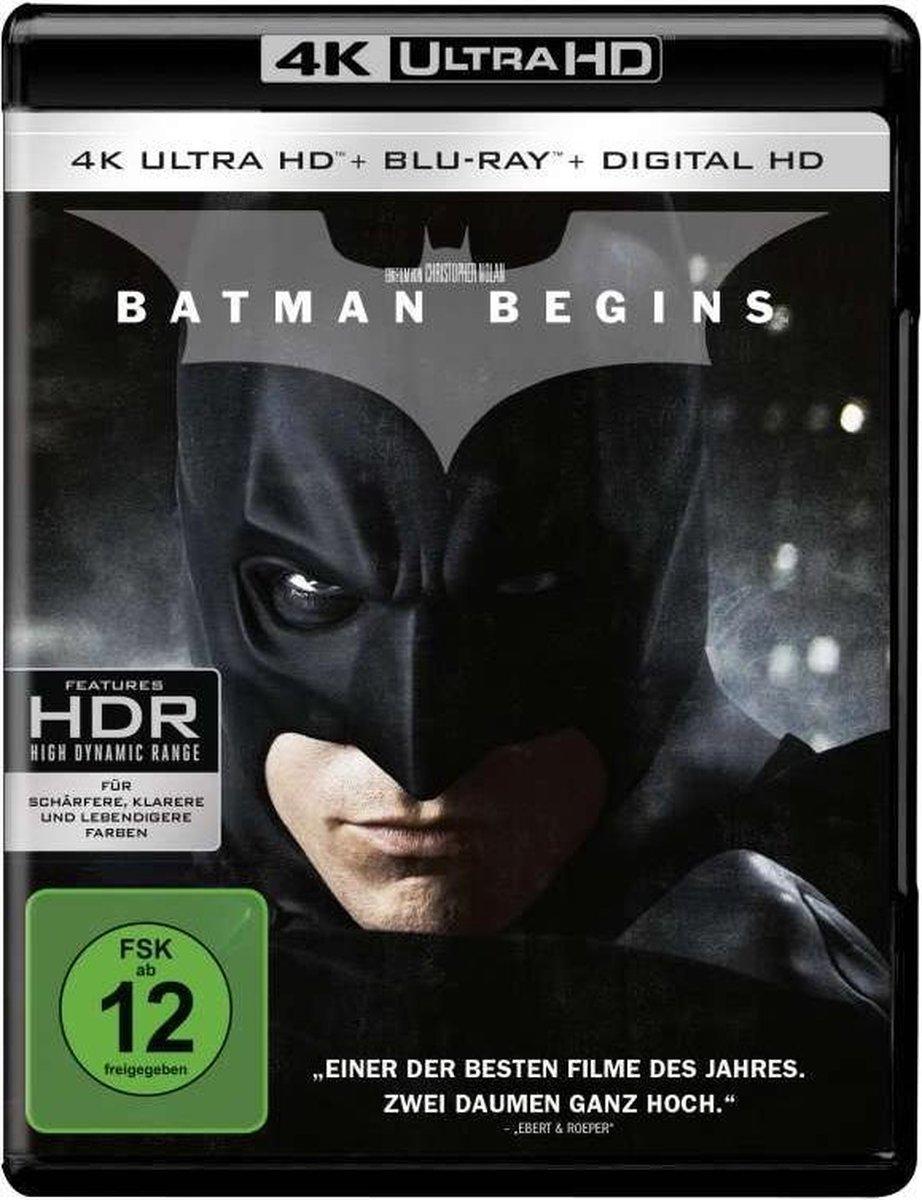 Batman Begins (Ultra HD 4K Blu-ray) (Import)-