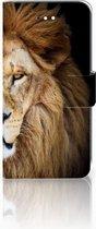 LG K11 Book Case Hoesje Design Leeuw