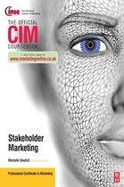 Cim Coursebook Marketing for Stakeholders