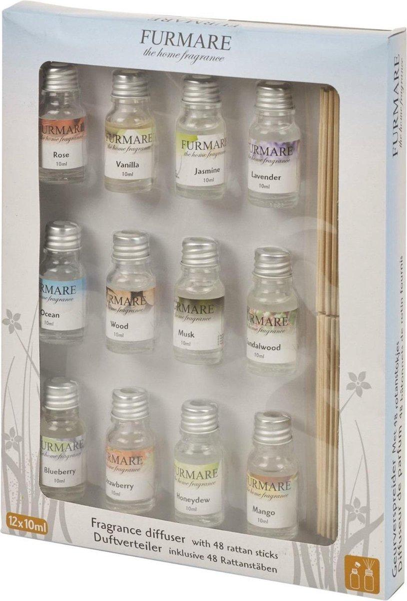Furmare Giftset - Fragrance Oil 12x10ml - Merkloos