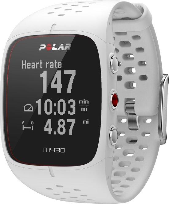 Polar M430 - GPS Sporthorloge - Large - Wit