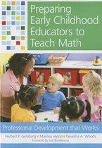 Preparing Early Childhood Educators to Teach Math