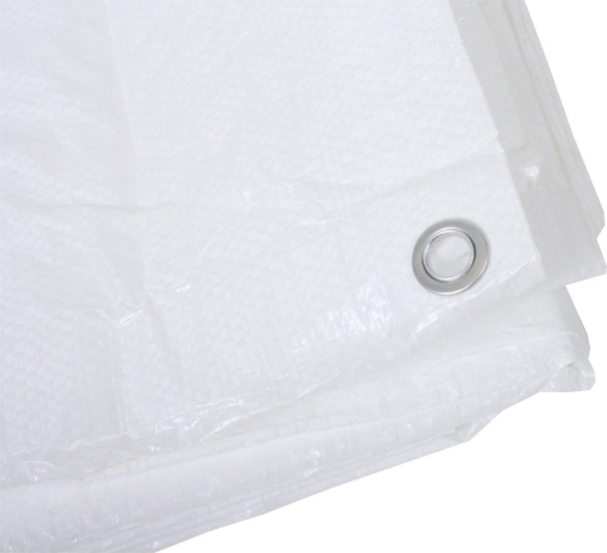 Afdekzeilen / dekkleden 100 g/m² - 3,00 m x 5,00 m - wit
