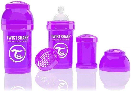 Product: Twistshake Anti-colic babyfles - Purple Bestie 260ml, van het merk Twistshake