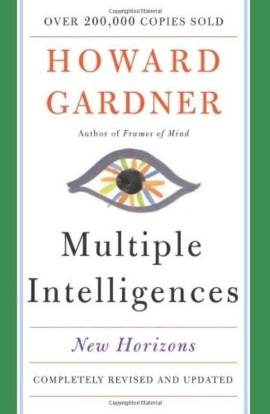 Boek cover Multiple Intelligences van Howard Gardner (Paperback)