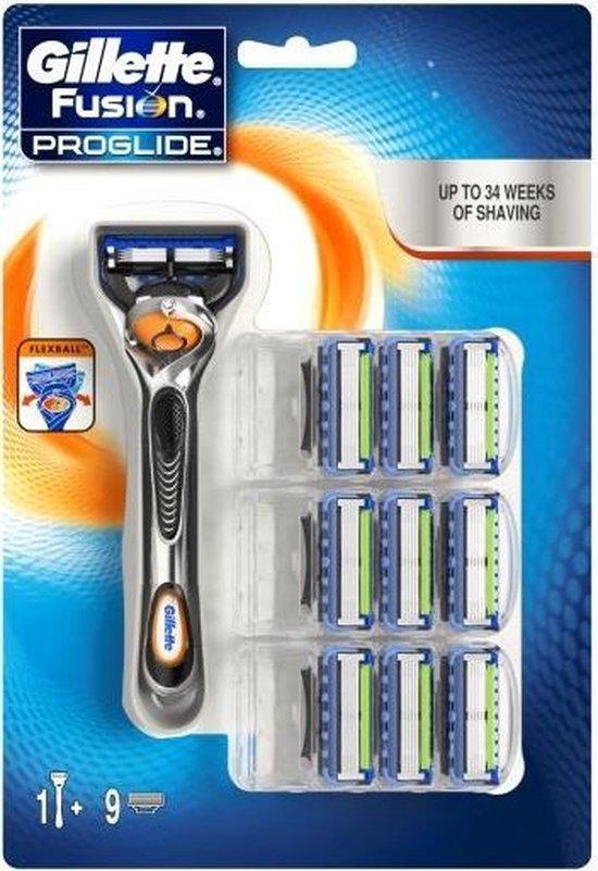 Gillette - Fusion Proglide Set - Holící strojek s náhradními břity (M)