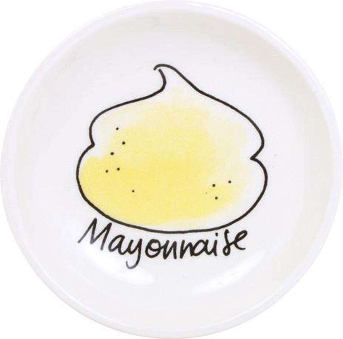 Blond Amsterdam Snack Schaaltje Mayonaise - Ø 8 cm